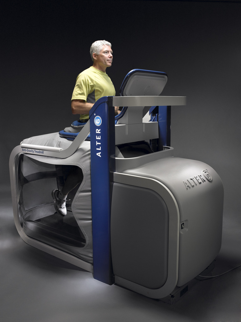 AlterG Anti Gravity Treadmill Rehab Physical Therapy Bozeman MT